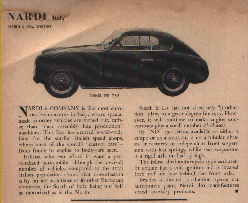 Fiat Of Palm Springs >> Cliff Reuter Etceterini Nardi Cars SCCA Sports Car